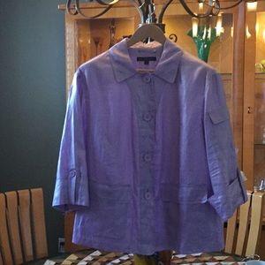 Light weight linen jacket NWOT